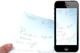 Scan-photo sur smartphone et envoi de votre ordonnance